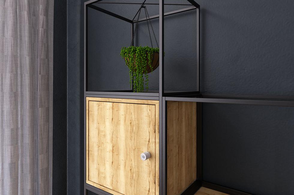 grid locker office furniture