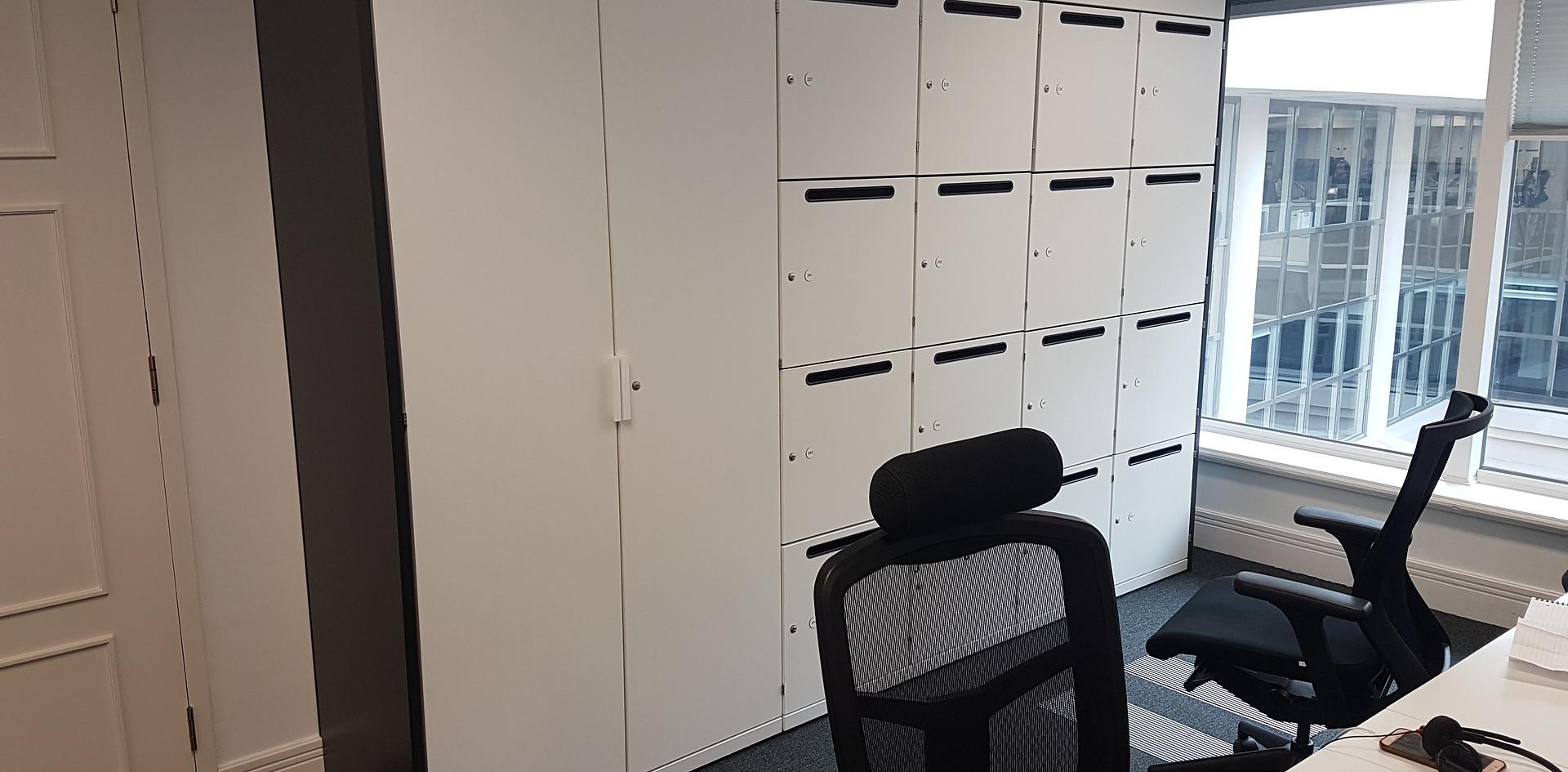 post slot lockers storagewall