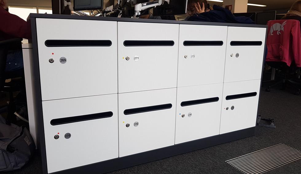 post slot workplace locker key locking