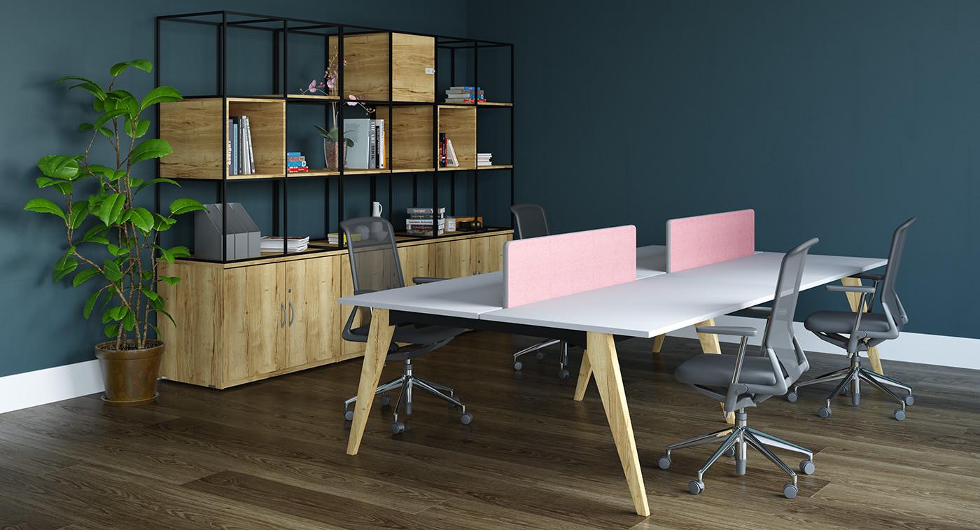grid office multifunctional flexible furniture