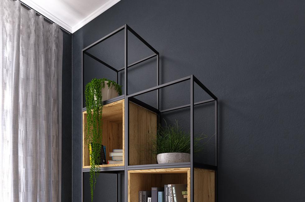 flexible working grid furniture