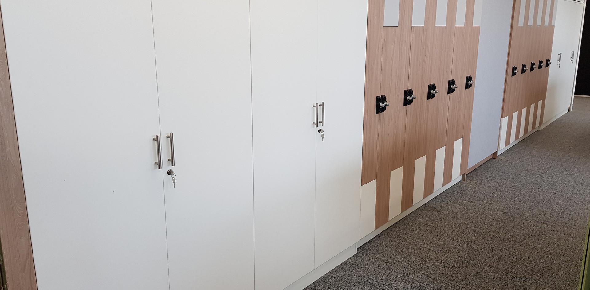 workplace agile flexible working lockers storagewall RFID locks