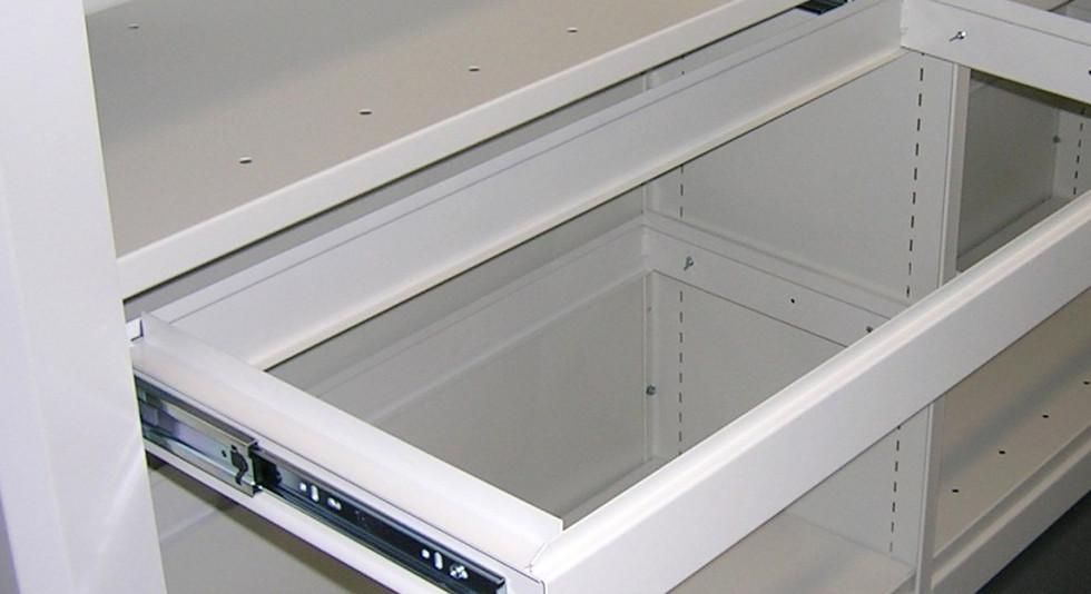 mobile roller racking pull out filing frame