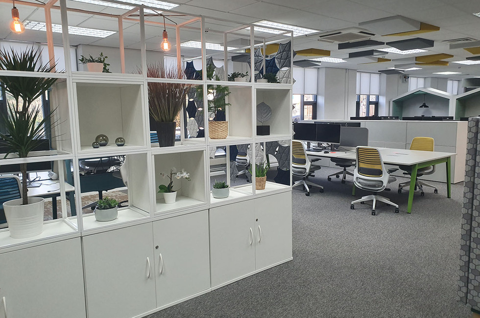 contemporary office grid furniture