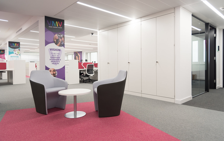 office bespoke storagewall
