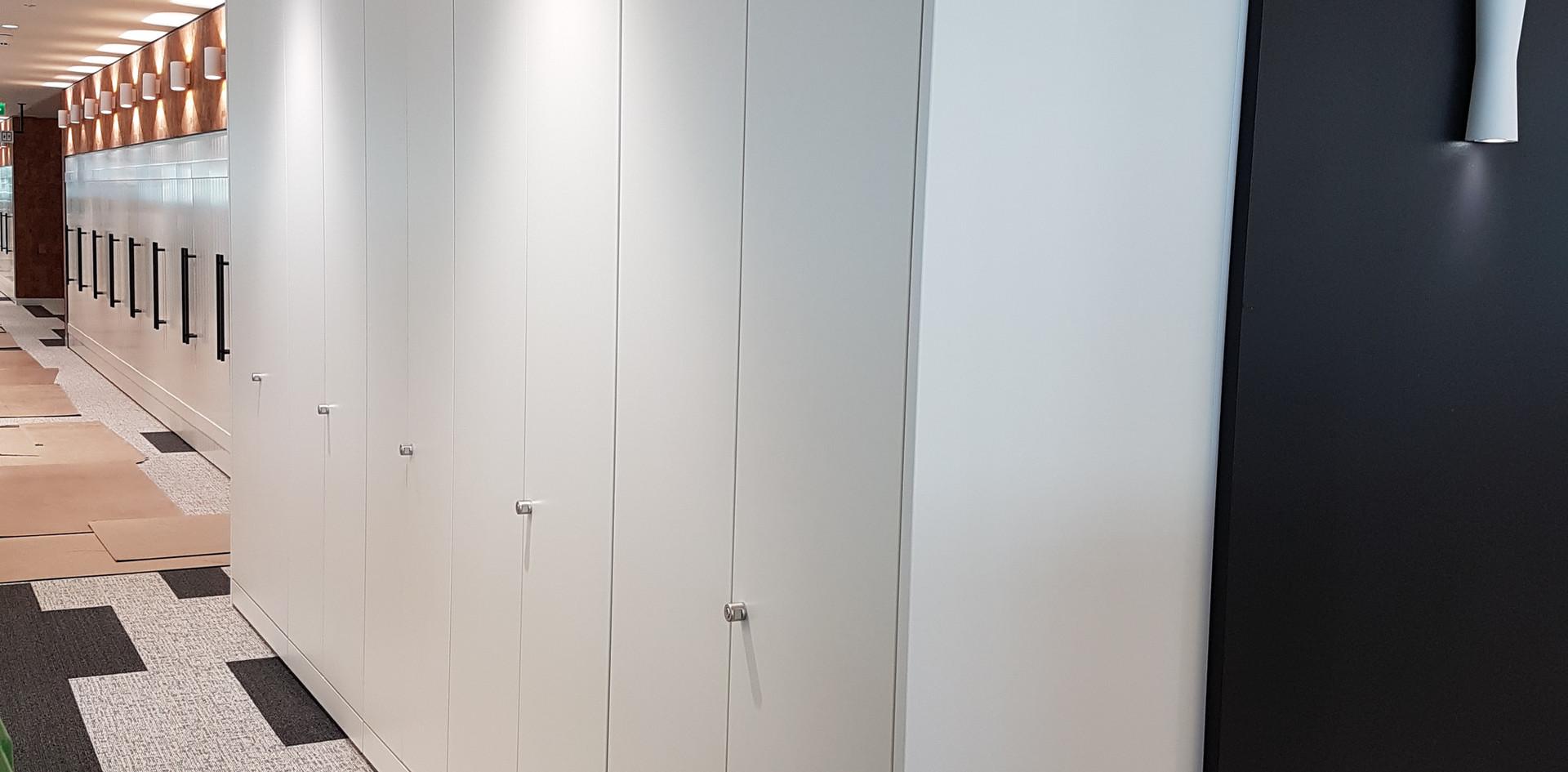 office tall wall storage key locking
