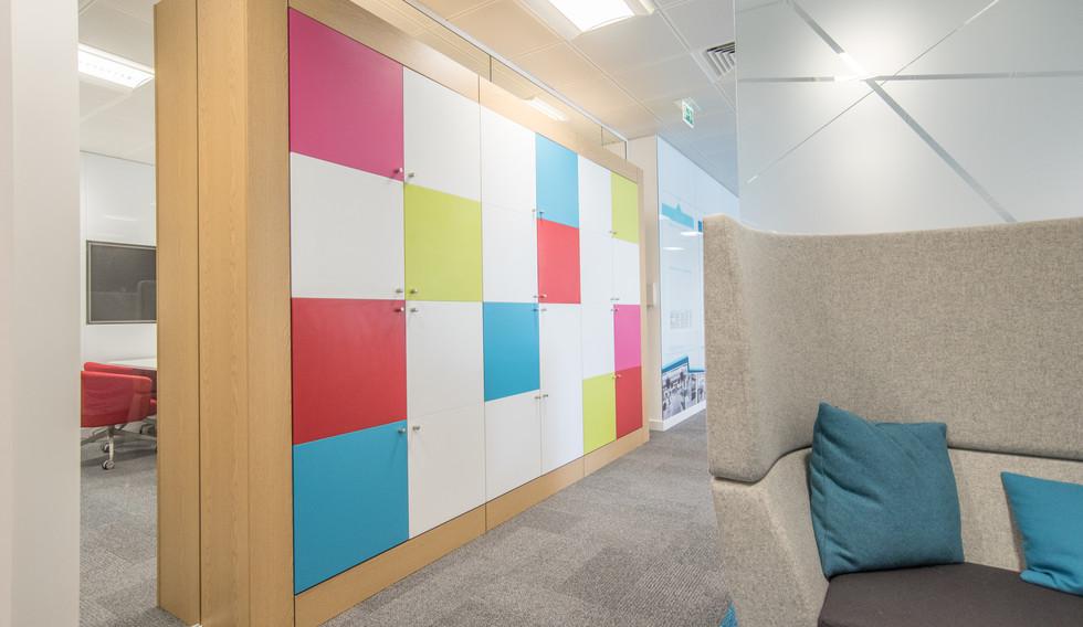agile workplace smart MFC lockers