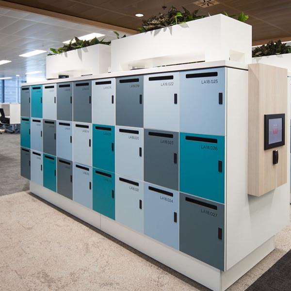 bespoke personal post slot agile lockers RFID lock screen access