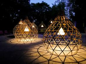 Lucila Aguilar construye pabellón de bambú para Design Week México 2020
