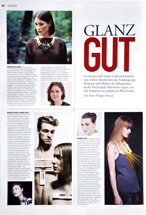 ZAPFENDUSTER IM FAZ Magazin 5/2015