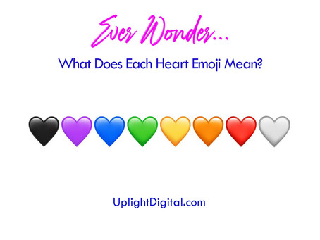 Ever Wonder... What Do Each of The Heart Emojis Mean?