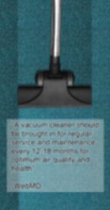 Vacuum cleane repair and maintenance