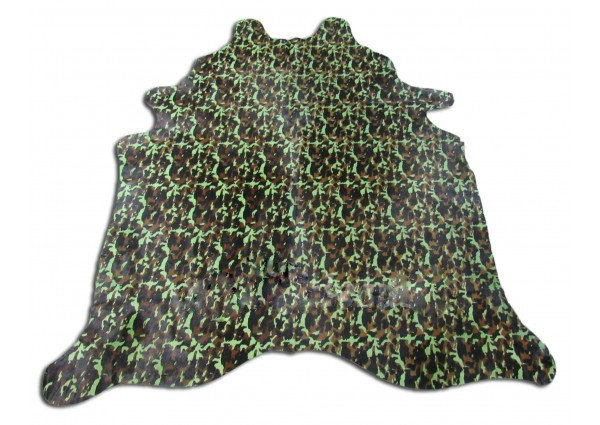 Army Cow Hide Rug