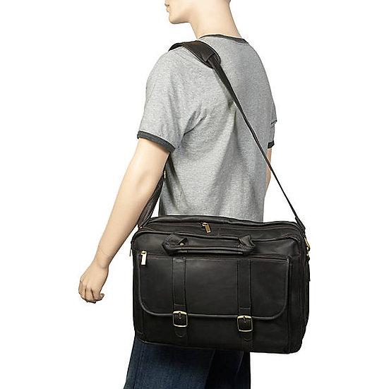 Arturo Extra Large Expandible Briefcase