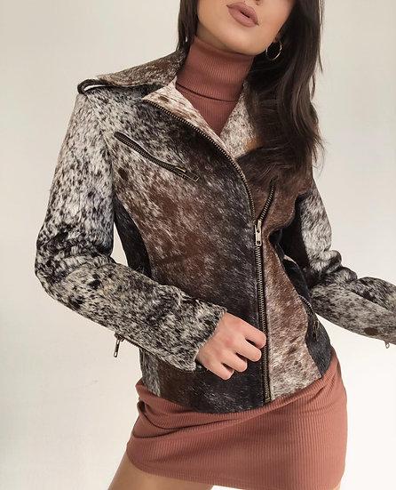 Madison Moto Fur Jacket