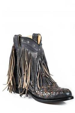 Lilly Fringed Cowgirl booties