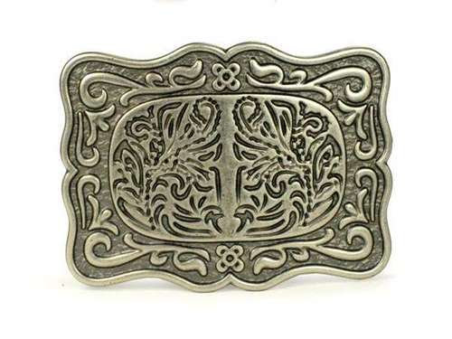 SCULPTED GOLD BUCKLE