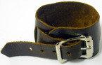 Avril Single Buckle Leather Cuff