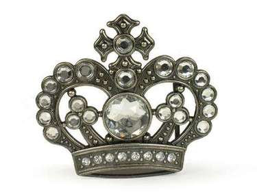 CROWN WITH STONES BUCKLE