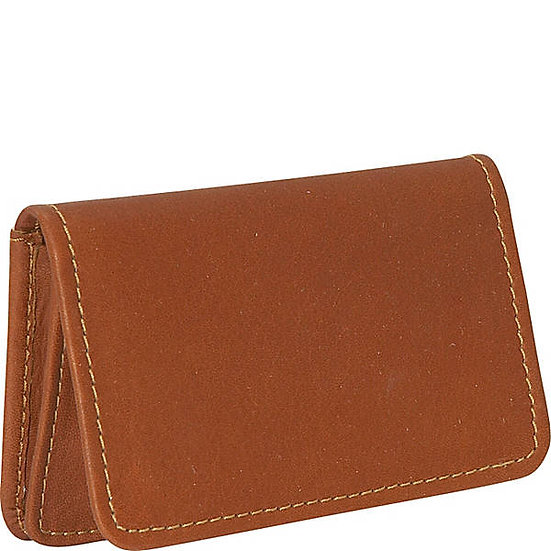 Amancio Front Pocket Mini Foldover Card Case