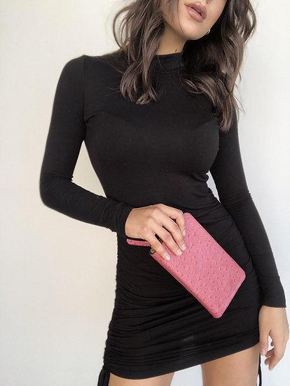 Valentina Small Zip Clutch Wallet