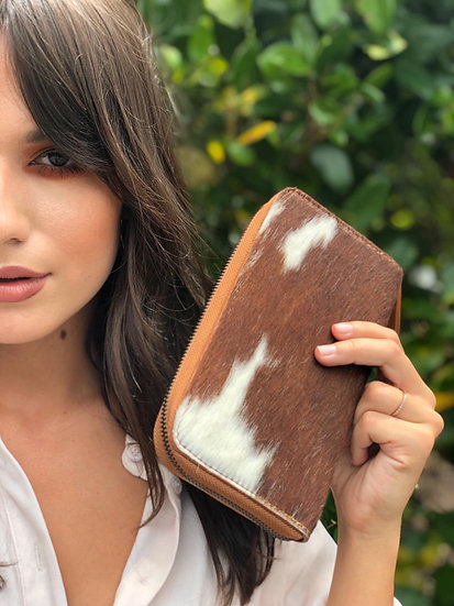 Agustina Small Exotic Zip Wallet