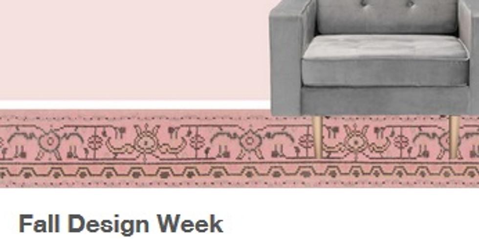 Fall Design Week September 21 – 23, 2020