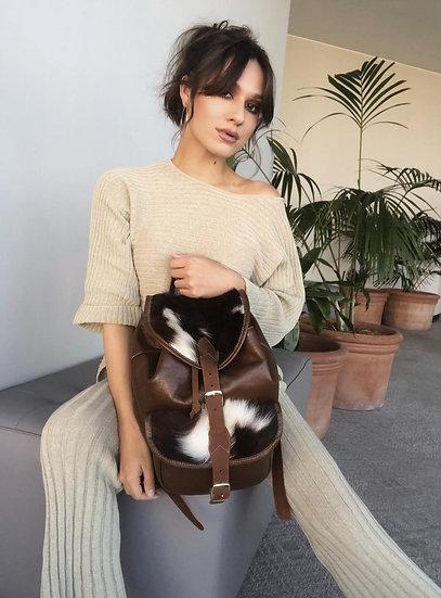 Lacie Fur Med Back Pack