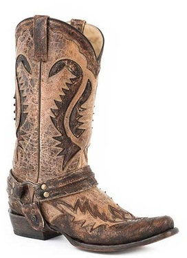 Cowboy Boot - Distressed