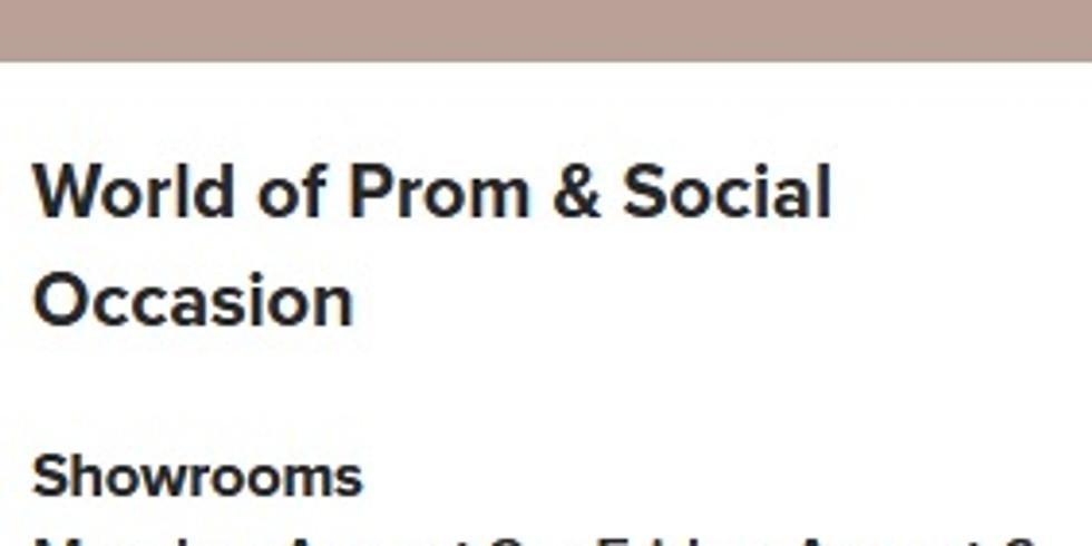 August Atlanta Apparel & World of Prom & Social Occasion