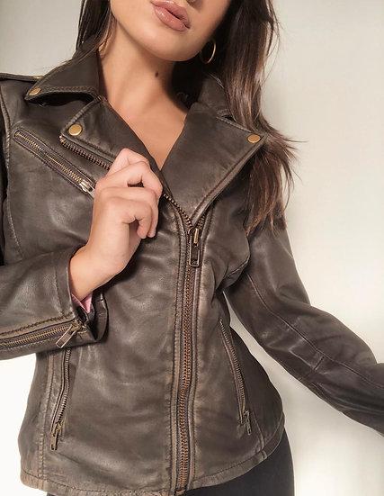 Frankie Vintage Moto Jacket