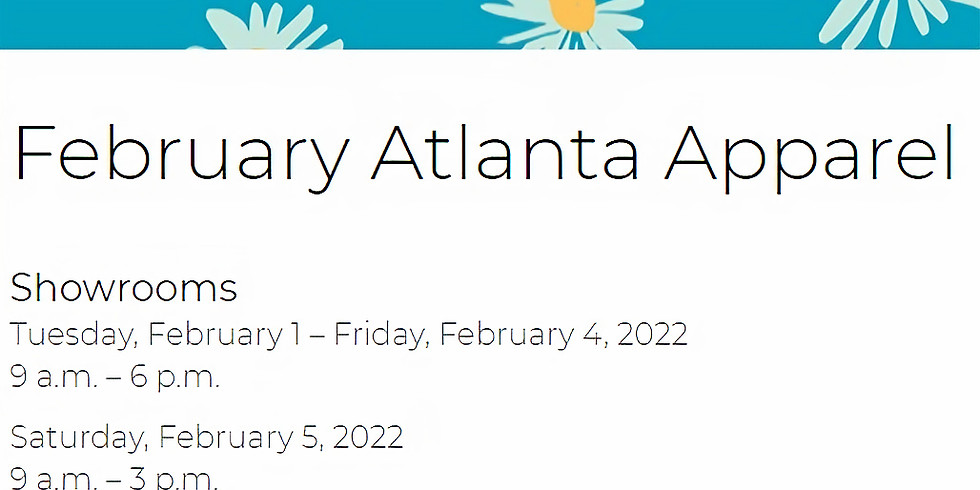 February Atlanta Apparel