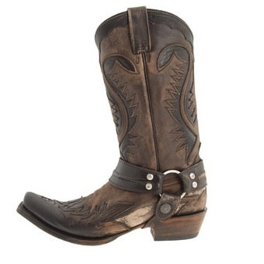 Cowgirl Boots - Distressed