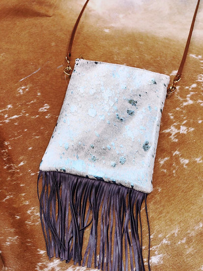 Eva Medium Fringed N/S Cross Body