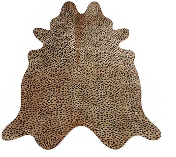 Cheetah Cow Hide Rug