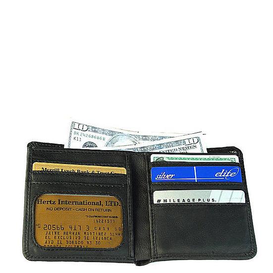 Bastian Hipster Medium Tall Bifold Wallet