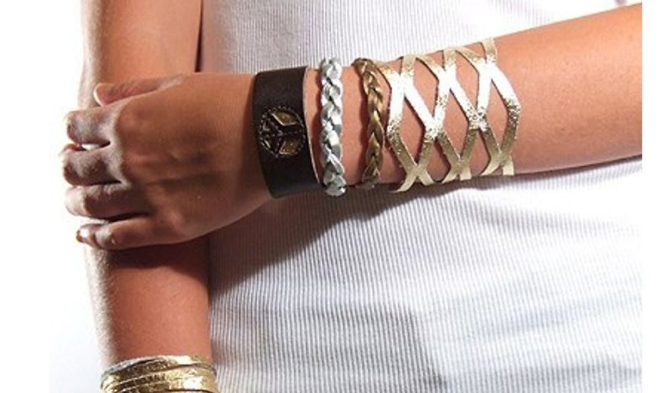 Charlotte Mini Braid Cuff