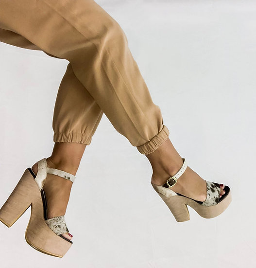 Ivy Platform Sandals