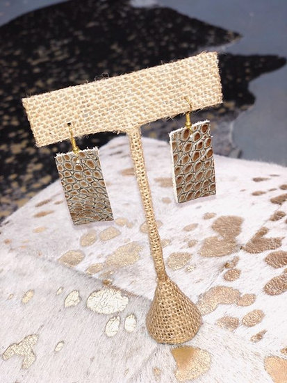 Rory Mini Rectangle Earrings