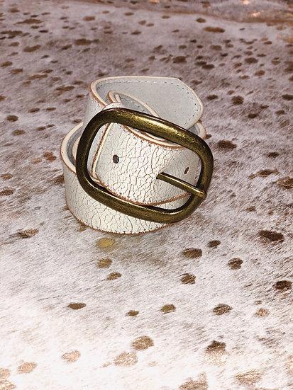 Alana Wide Antique Belt