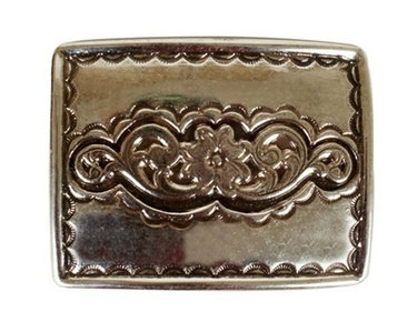 GOLD SQUARED-BUCKLE