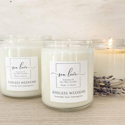 Sea Love Candles - Endless Weekend