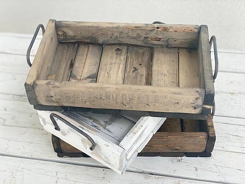 Hand Made Rustic Wood Tray