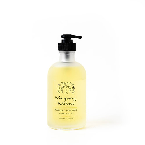 Whispering Willow Lemongrass Hand Soap