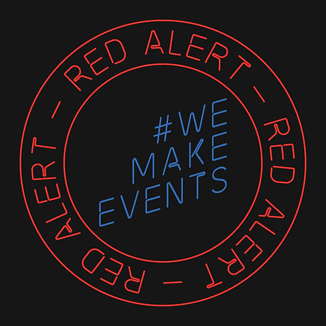 Red Alert Instagram Facebook square blac