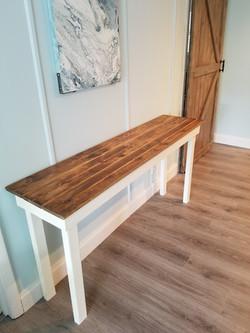 Narrow Entry Table