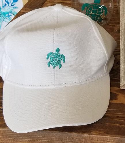 Sea Turtle hat - white