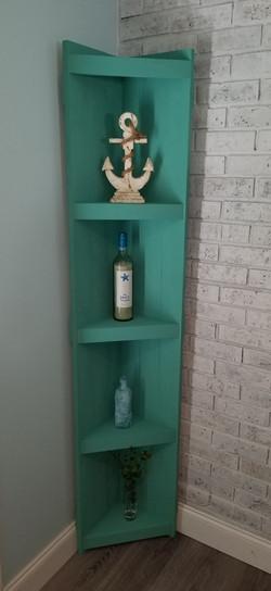 Narrow Corner Shelf