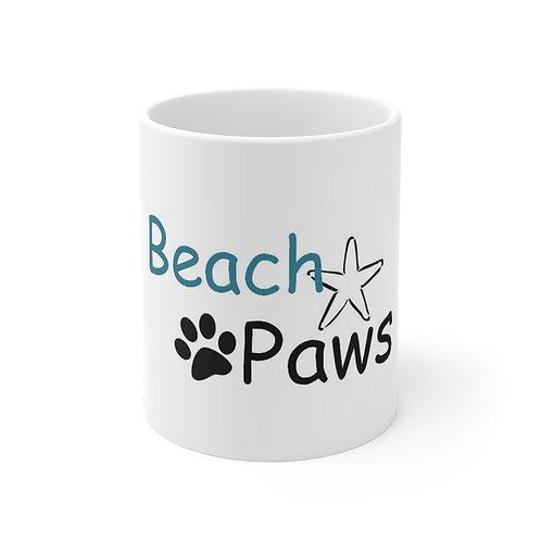 Beach Paws Mug 11oz