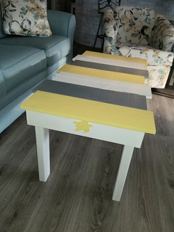 Picket coffee table
